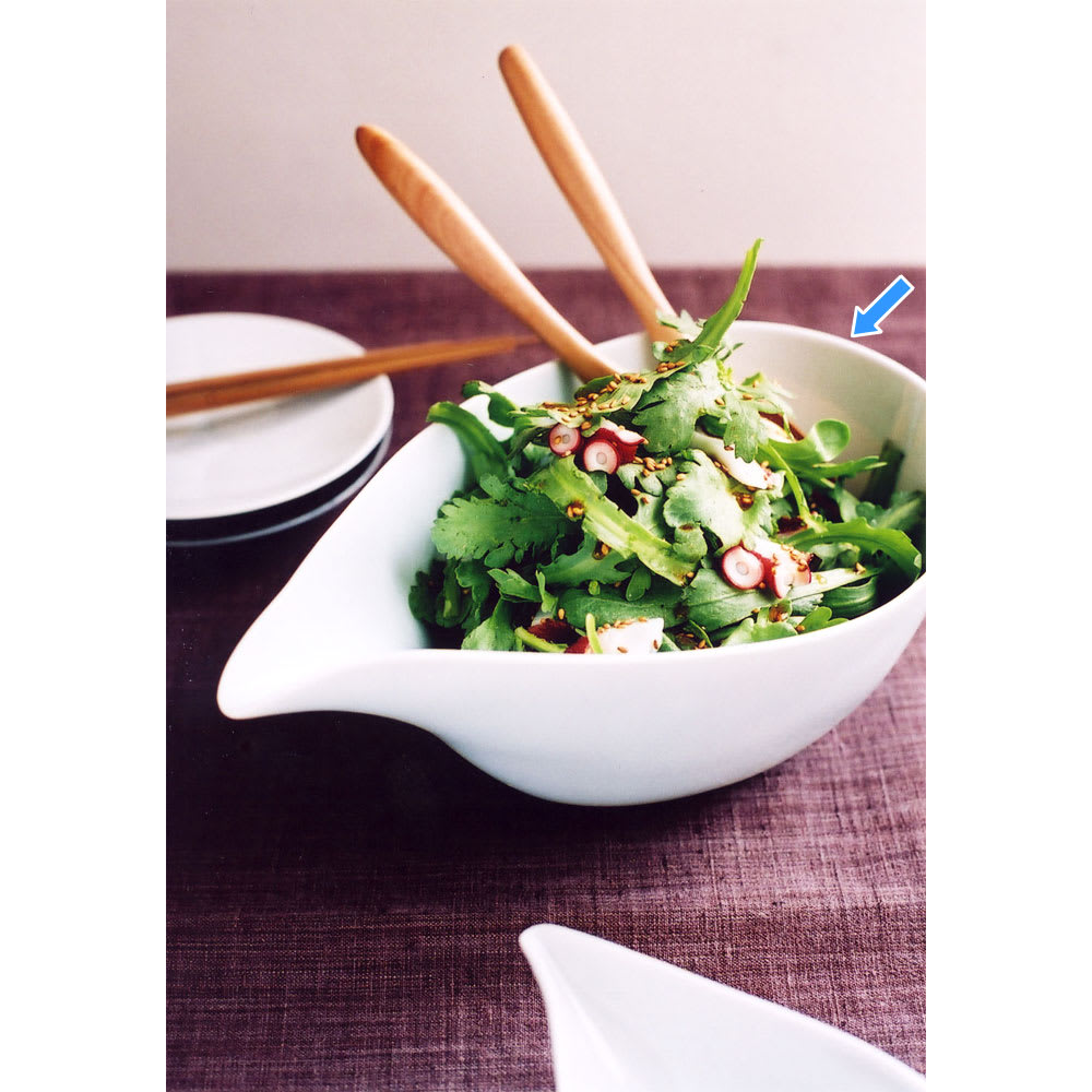 ARITA PORCELAIN LAB(アリタ・ポーセリン・ラボ)/片口(大)hakuji/白磁|有田焼 昔ながらの注器としての機能を活かした使い方だけでなく、盛り鉢として片口を利用すると食卓にも変化がでます