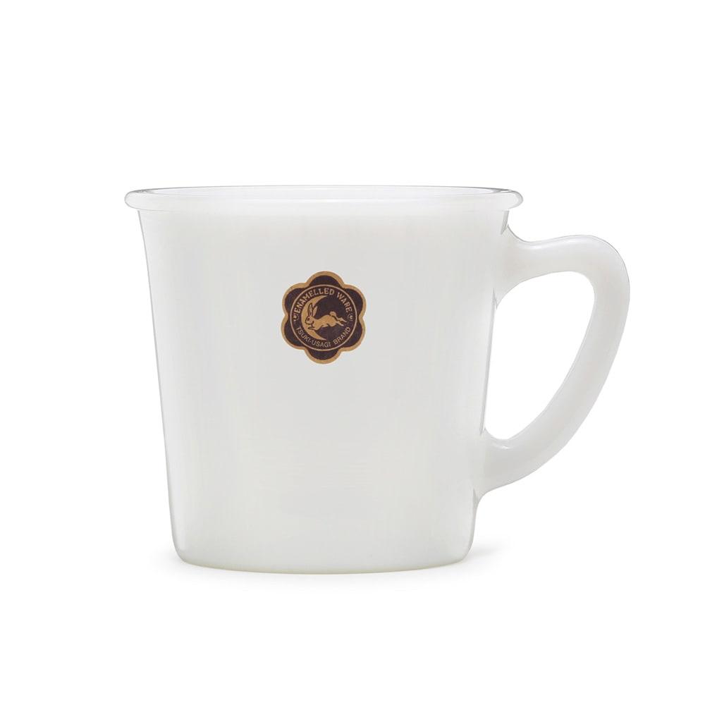 月兎印/ミルクガラス  マグカップ  250ml