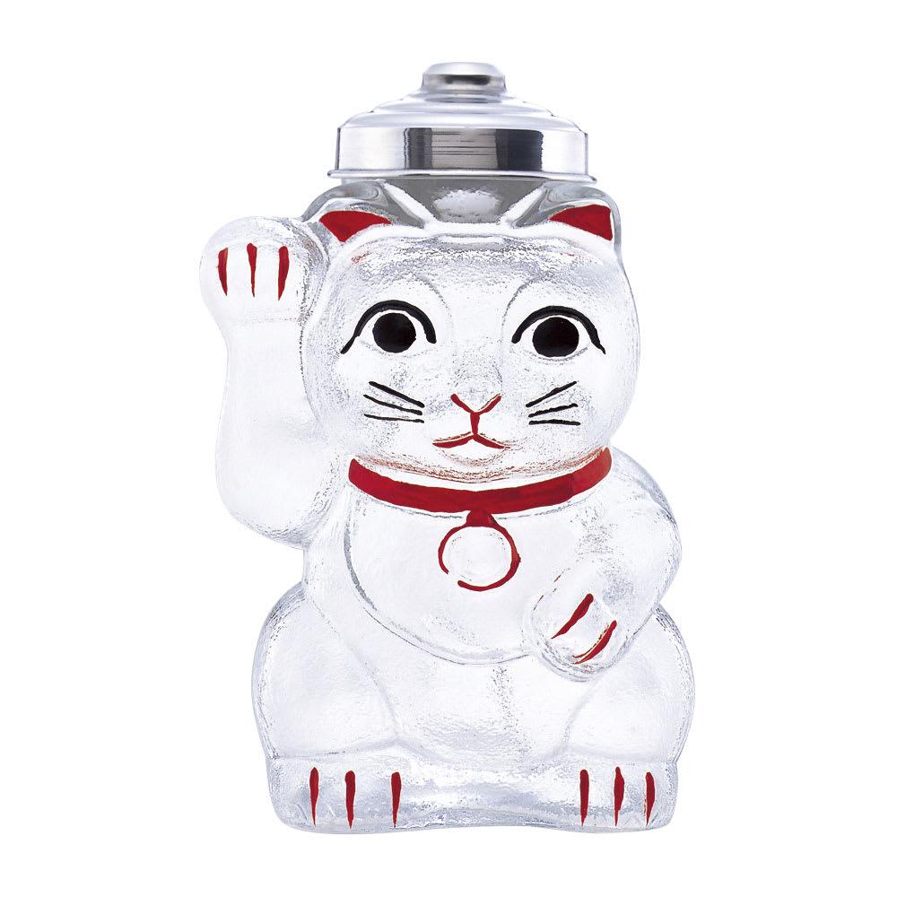 廣田硝子(ヒロタガラス)/招き猫 菓子びん 保存容器類