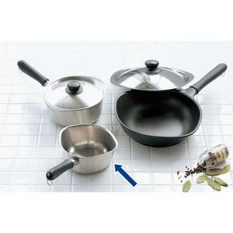 Sori Yanagi(柳宗理)/鍋シリーズ ミルクパン つや消し|ミニ 片手鍋