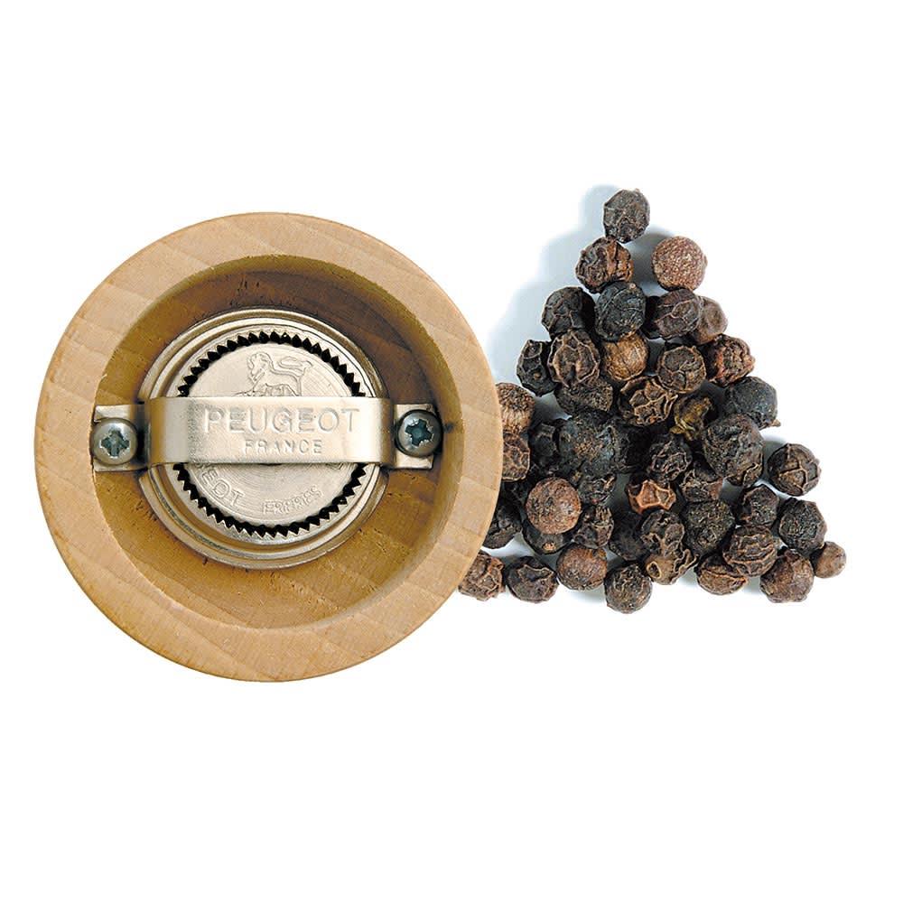 プジョー パリUセレクト ペッパーミル 12cm 白木 粒の大きさが2~5mmのものをご使用ください。