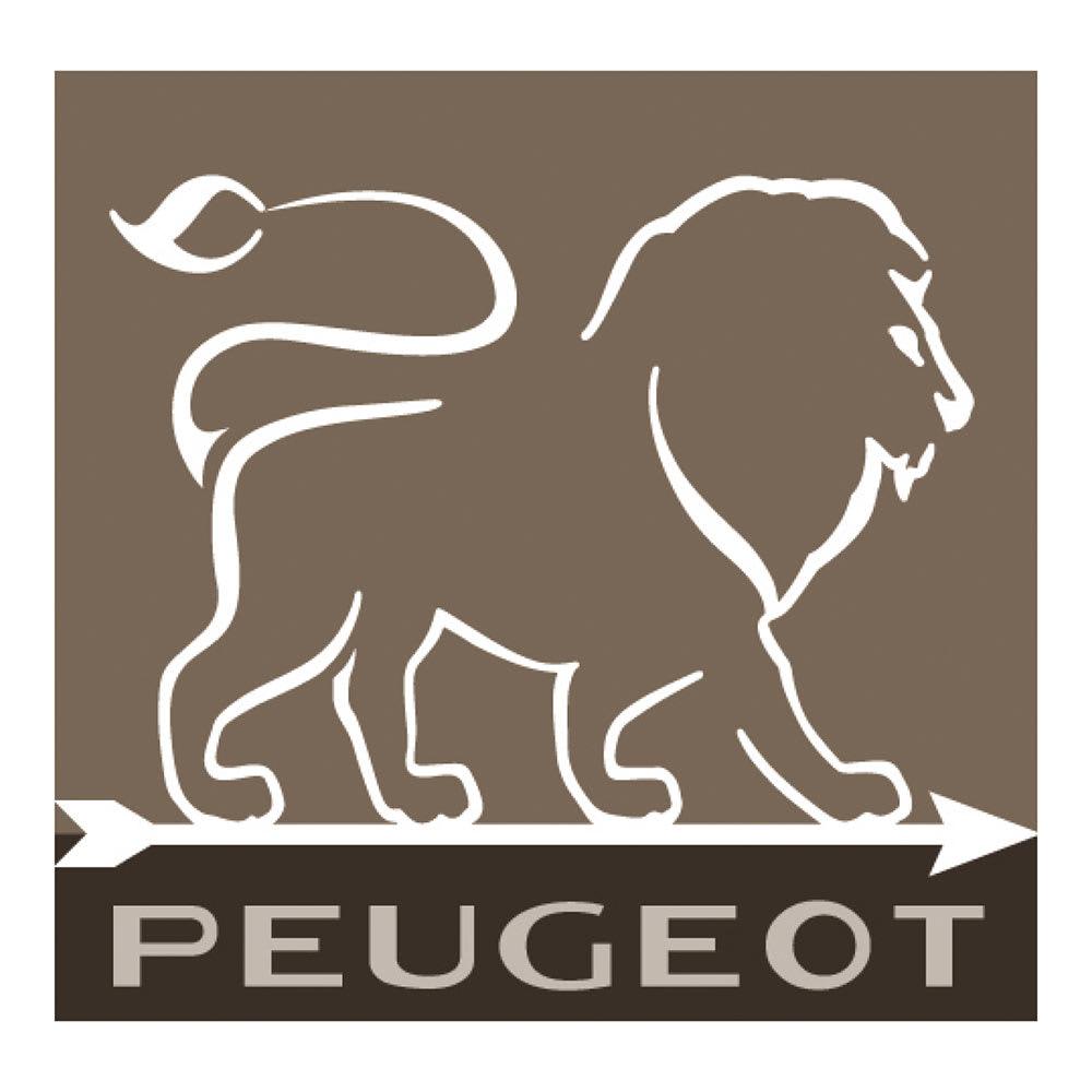 プジョー パリUセレクト ペッパーミル 12cm 白木 ライオンの鋭い歯をイメージしたライオンエンブレム。