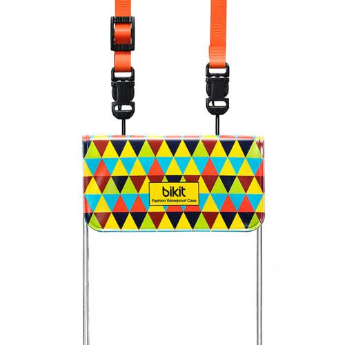 スマートフォン用防水ポーチ bikit (オ)トライアングル