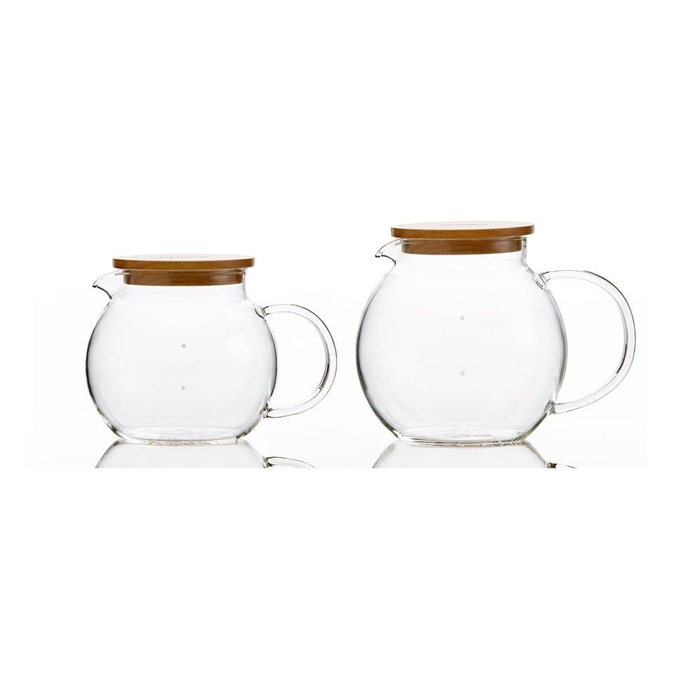 ハンドメイドガラスサーバー6カップ [cores/コレス] 4カップ用(商品番号:NV08-95)と6カップ用がございます。