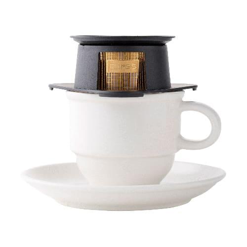 シングルカップゴールドフィルター [cores/コレス] 1カップ専用のゴールドフィルター