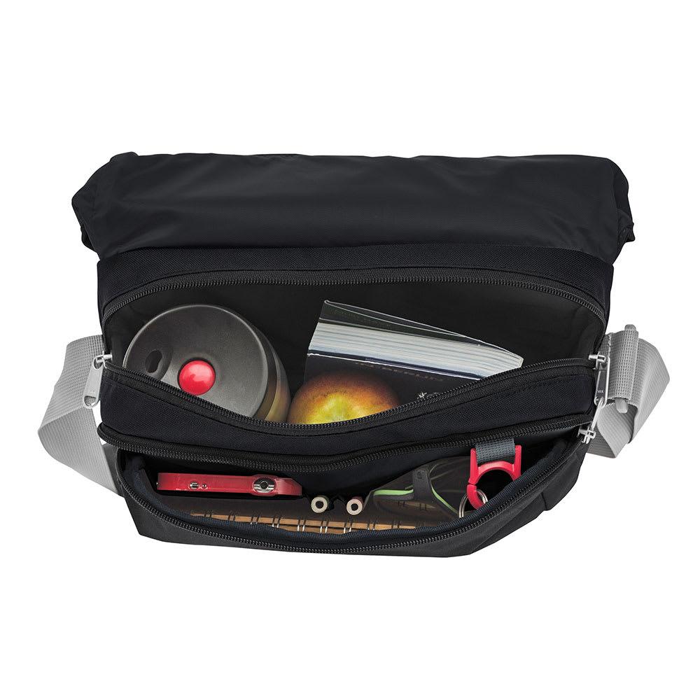 VAUDE(ファウデ)/ショルダーバッグ Rom 2S 5.5リットル (ア)ブラック/携帯電話用のポケットやペン差しなど、細かなポケットがあり、整理しやすく収納性にすぐれています。
