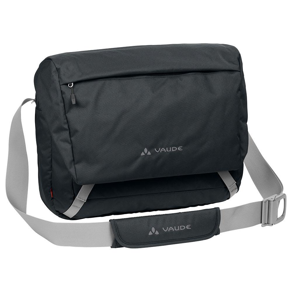 VAUDE(ファウデ)/ショルダーバッグ Rom 2M 13リットル (ア)ブラック/携帯電話用のポケットやペン差しなど、細かなポケットがあり、整理しやすく収納性にすぐれています