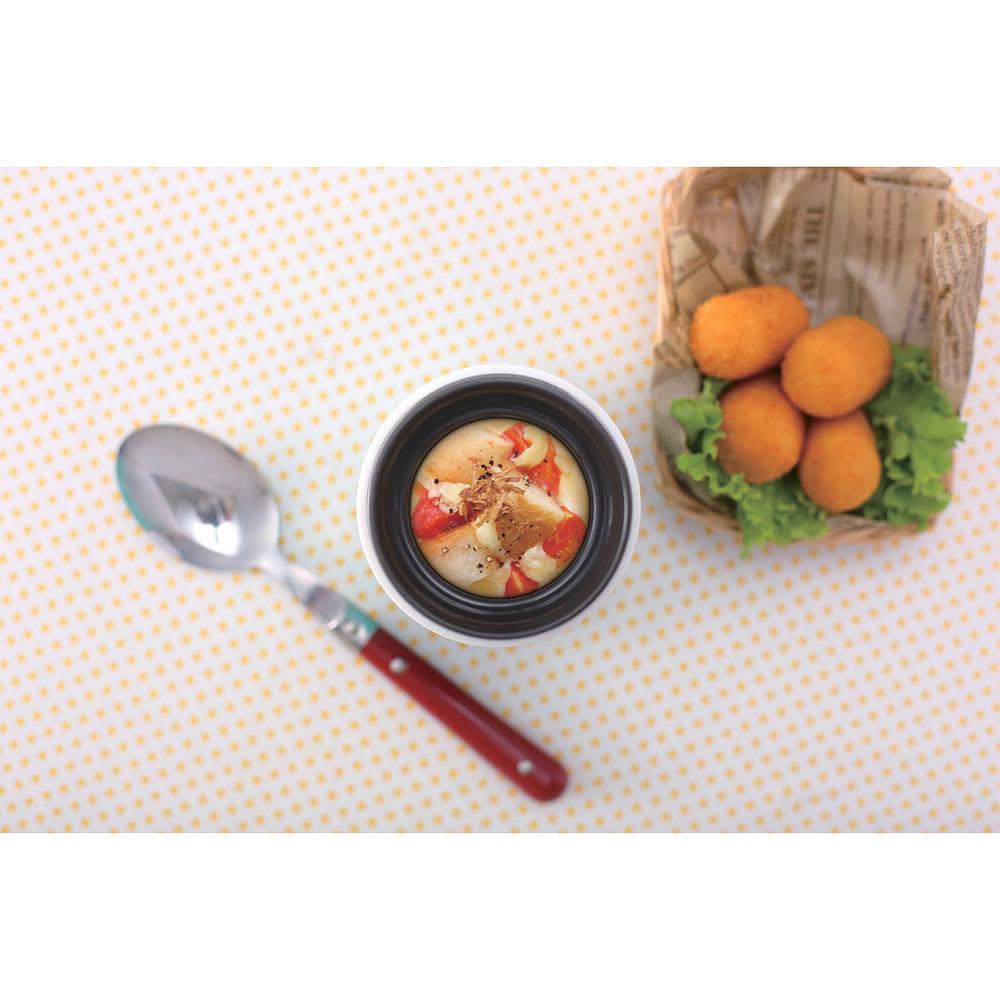 スープマグ 280ml 使用例:スープパングラタン