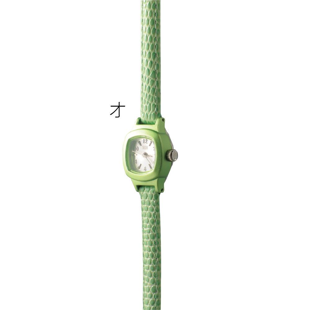 シロ エノグ ウォッチシカク 腕時計[SIRO] オ:グリーン