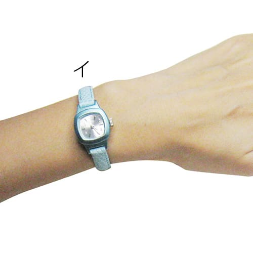 シロ エノグ ウォッチシカク 腕時計[SIRO] イ:着用イメージ