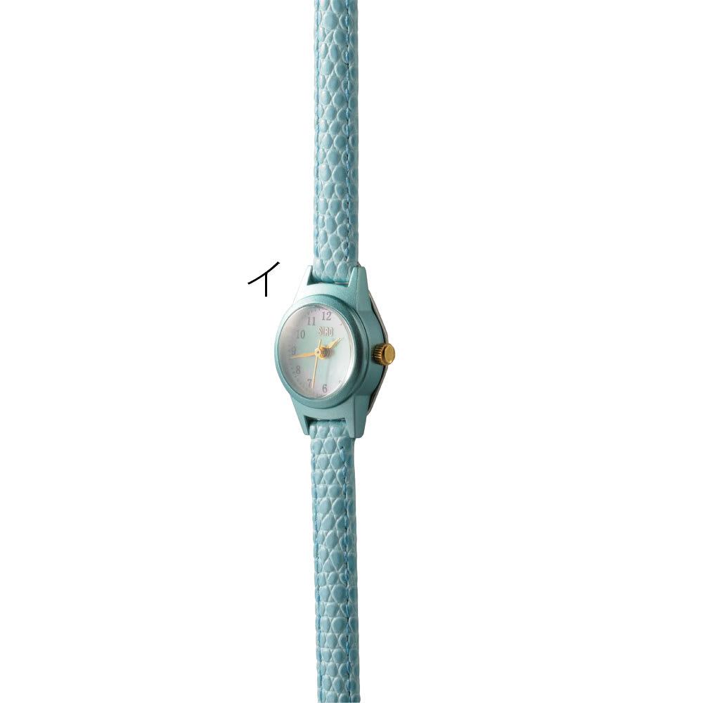 シロ エノグ ウォッチマル 腕時計[SIRO] イ:ブルー