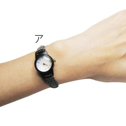 シロ エノグ ウォッチマル 腕時計[SIRO] ア:着用イメージ