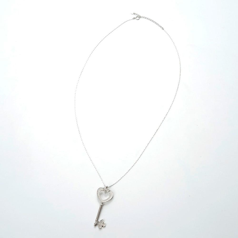 ハート型マベパールネックレス2本セット <ハート> 鍵型ネックレス