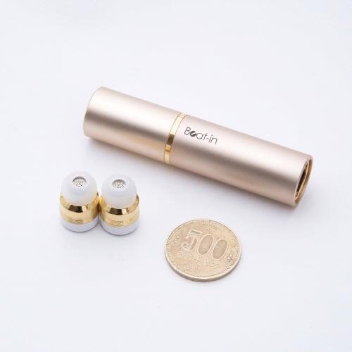 ワイヤレスイヤホン Beat-in Stick(ビートイン スティック)Bluetooth 4.1対応 左右 完全独立型 超小型 超小型です