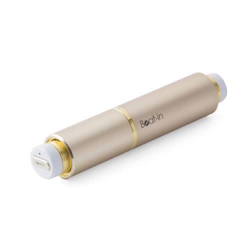 ワイヤレスイヤホン Beat-in Stick(ビートイン スティック)Bluetooth 4.1対応 左右 完全独立型 超小型 (イ)ゴールド