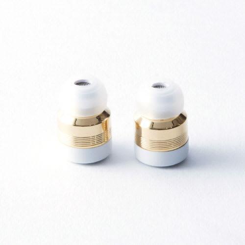 ワイヤレスイヤホン Beat-in Stick(ビートイン スティック)Bluetooth 4.1対応 左右 完全独立型 超小型 (イ)ゴールドイヤホン