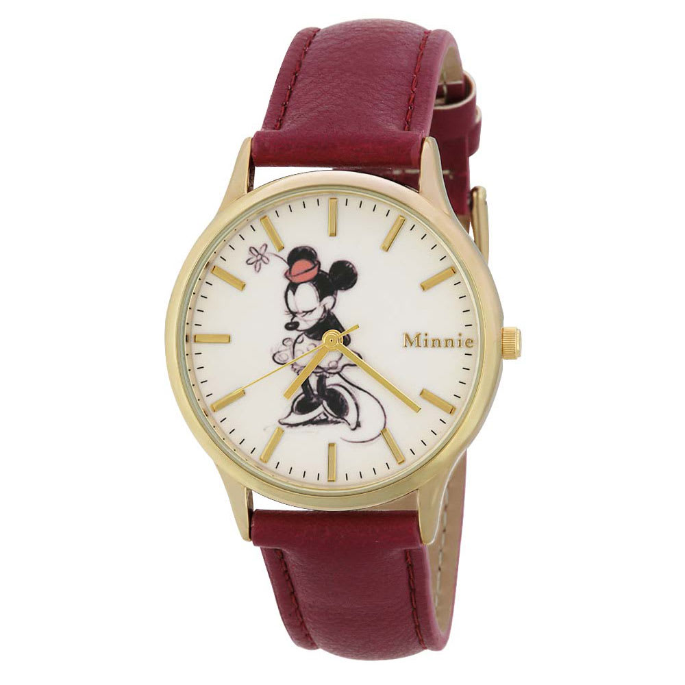 ワンカラーウォッチ Disney(ディズニー) (イ)ミニー