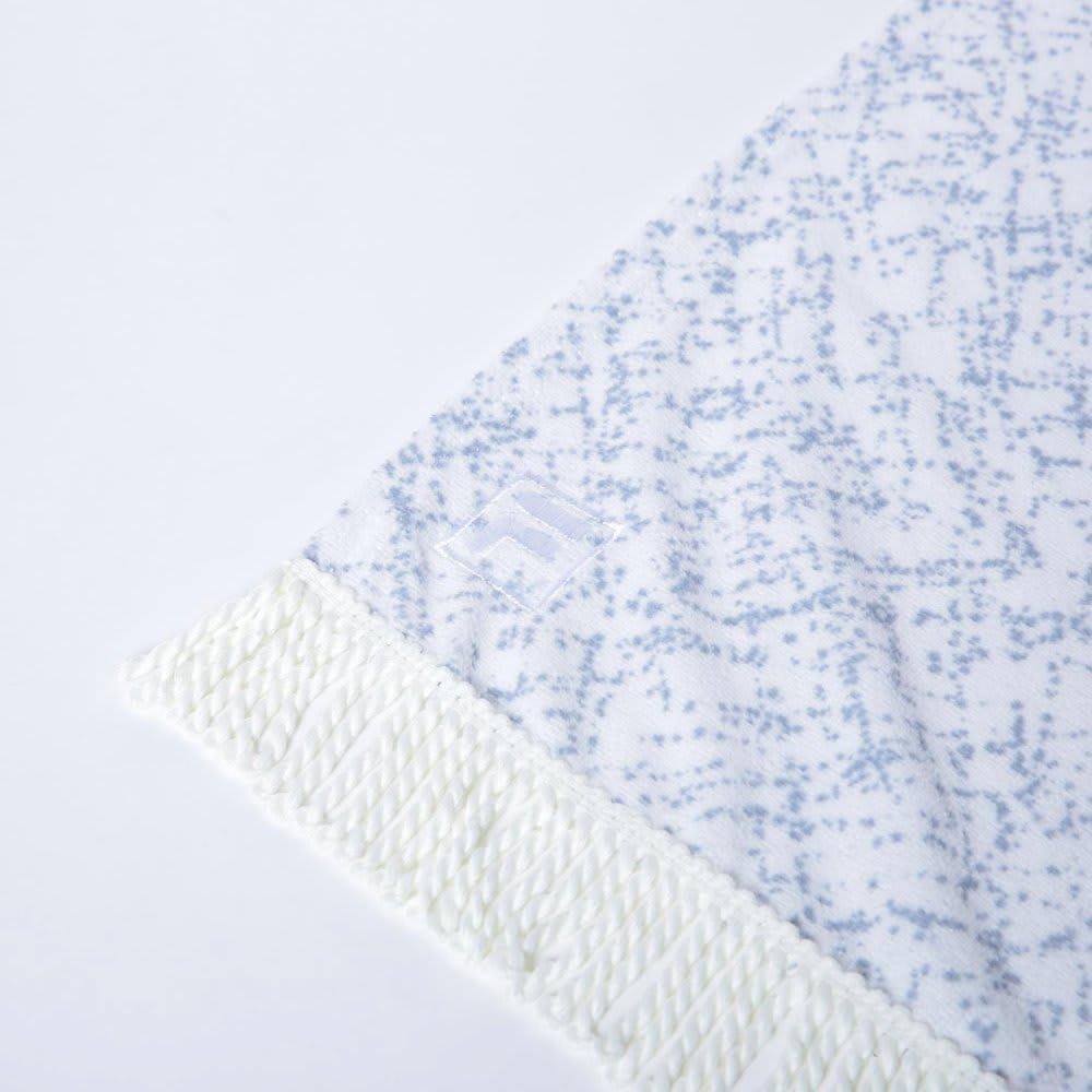 ペイントプリントヨガタオル[FILA/フィラ] (ウ)ホワイト