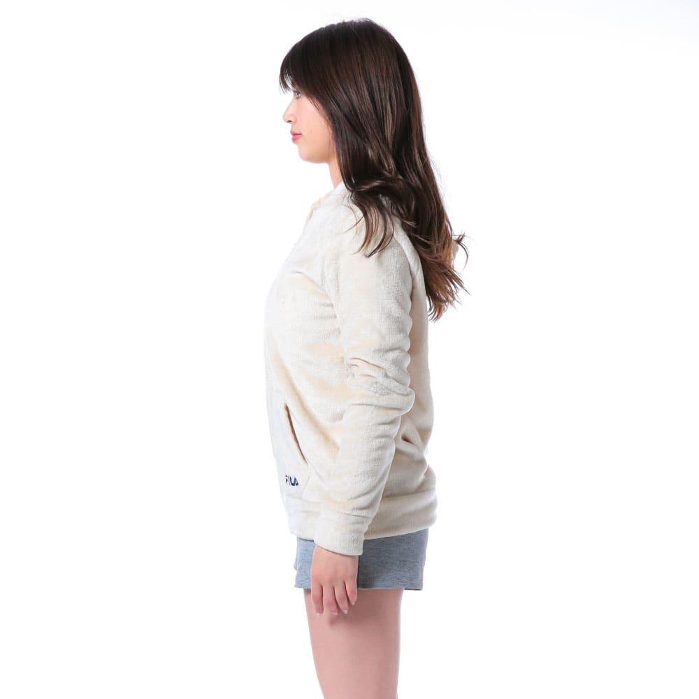 FILA(フィラ)/ふわもこタオルパーカー (ア)Side style