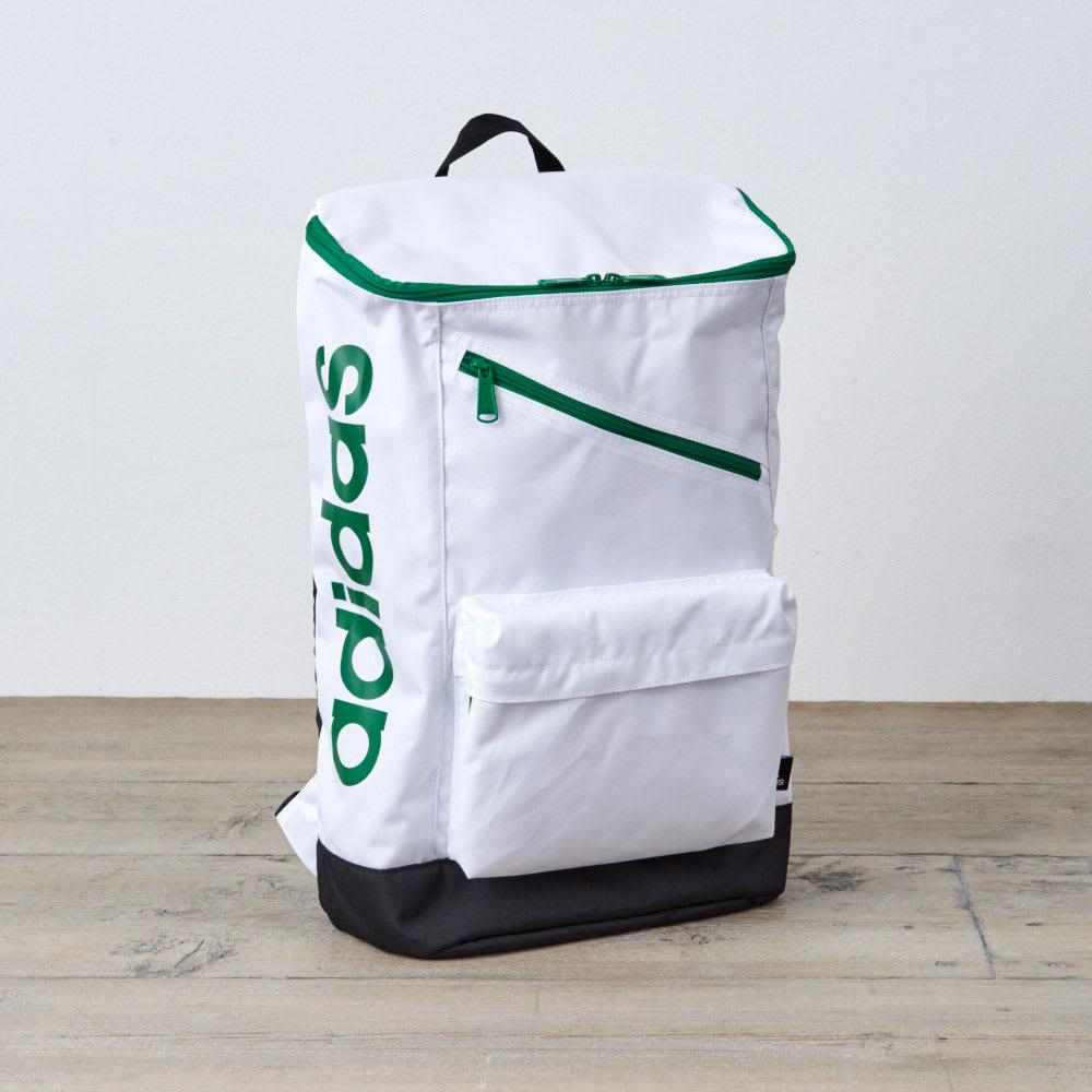 adidas(アディダス)/スクエアタイプリュック(24L) (ウ)ホワイト