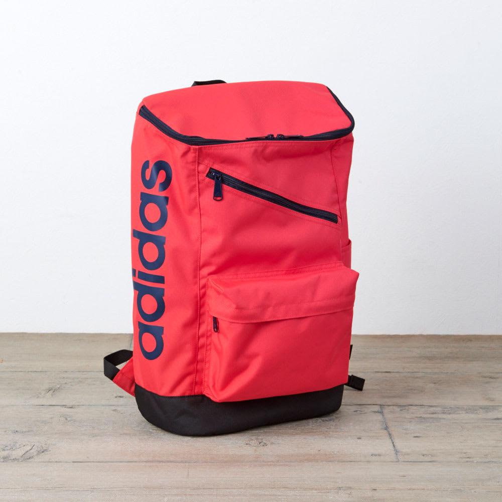 adidas(アディダス)/スクエアタイプリュック(24L) (エ)オレンジ