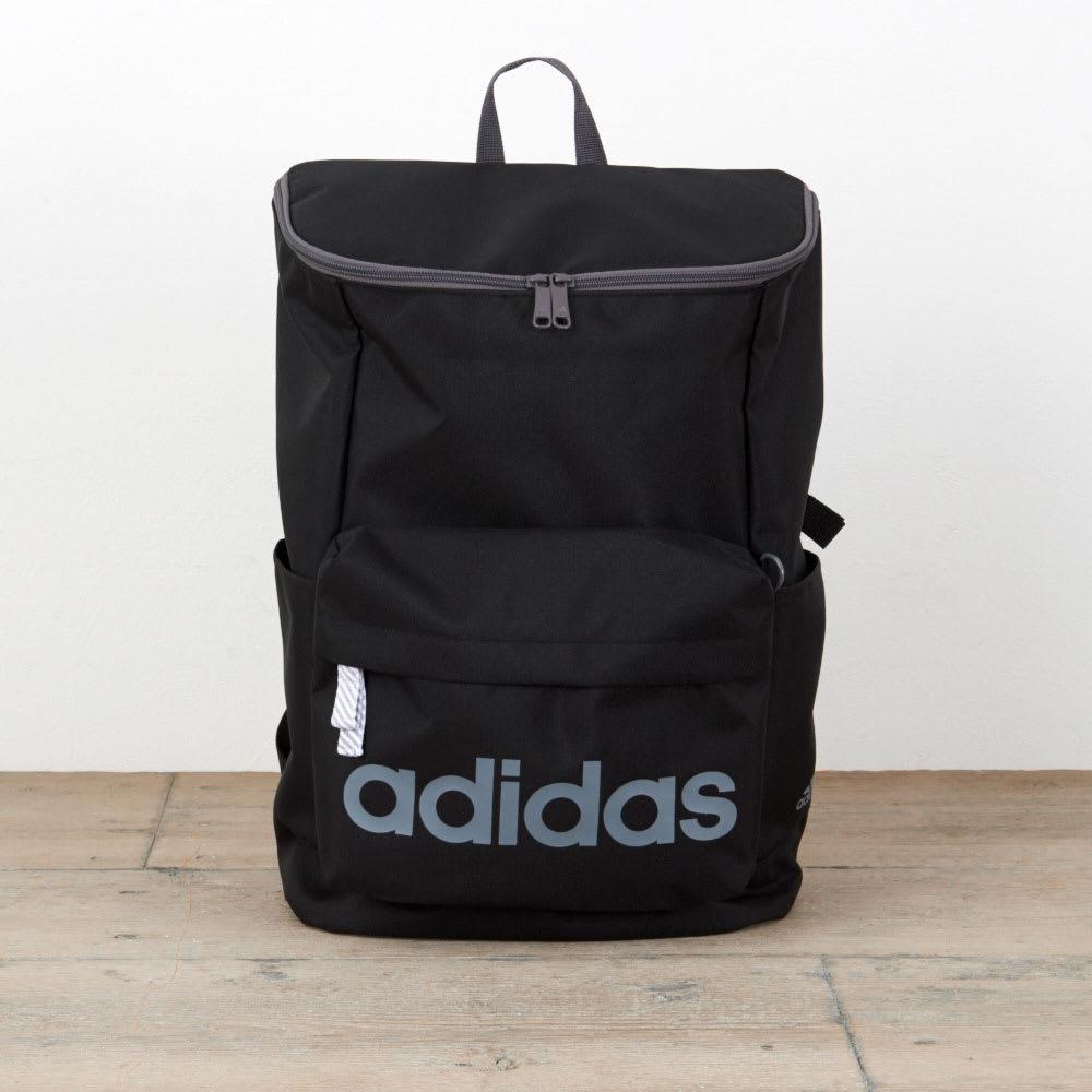 adidas(アディダス)/スクエアタイプリュック(20L) (ア)ブラック