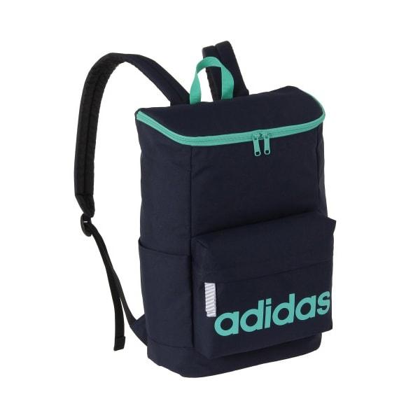 adidas(アディダス)/スクエアタイプリュック(20L) (キ)ネイビー×グリーン
