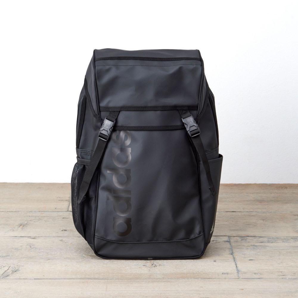 adidas(アディダス)/チェストベルト付かぶせリュック(18L) (ア)ブラック