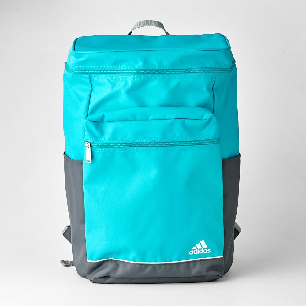 adidas(アディダス)/スクエア型リュックサック (オ)ブルー