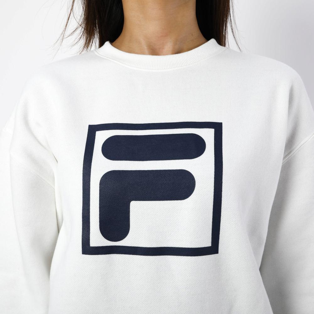 FILA(フィラ)/ビックロゴスウェットトレーナー (ア)ホワイト
