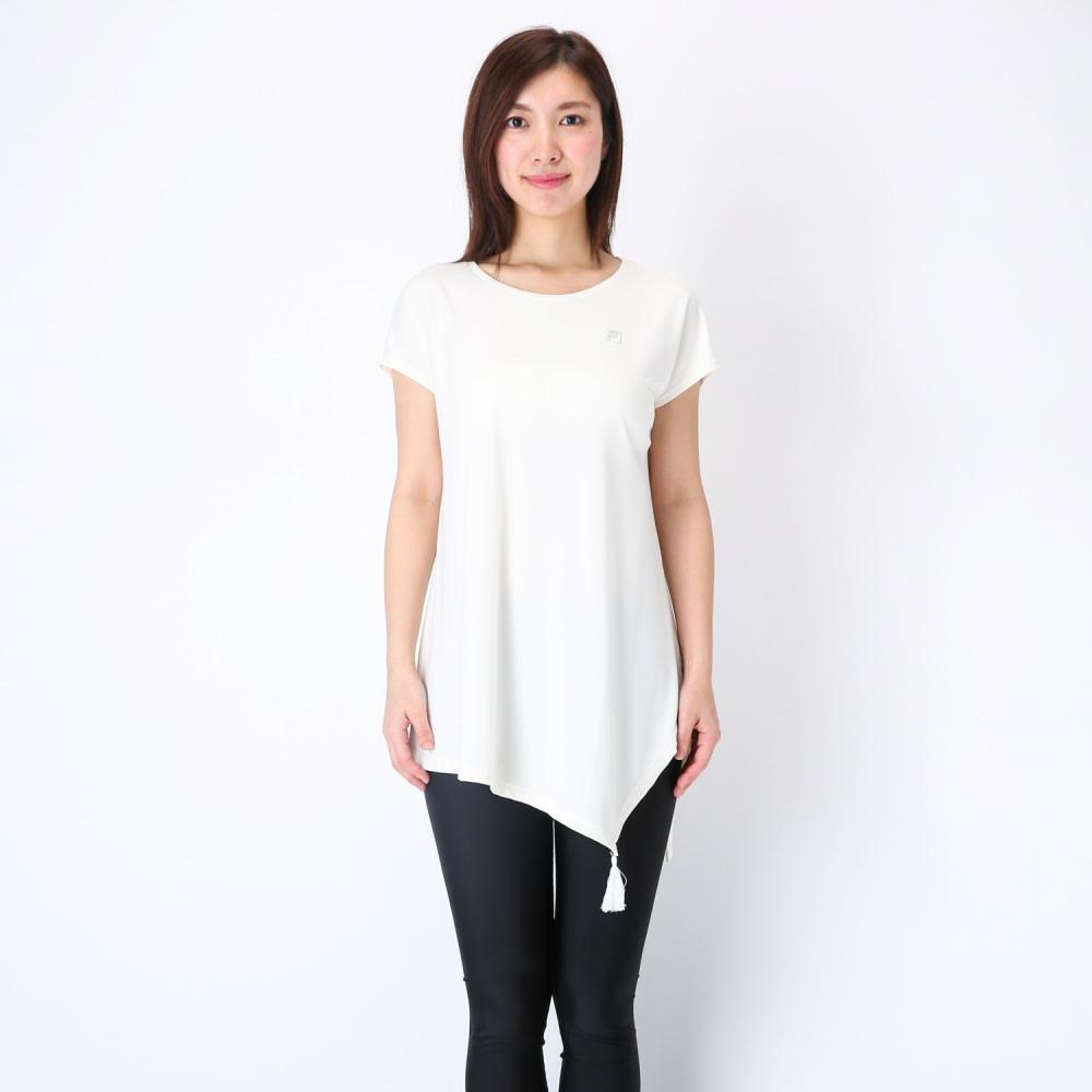 FILA裾フリンジトップス        (エ)ホワイト