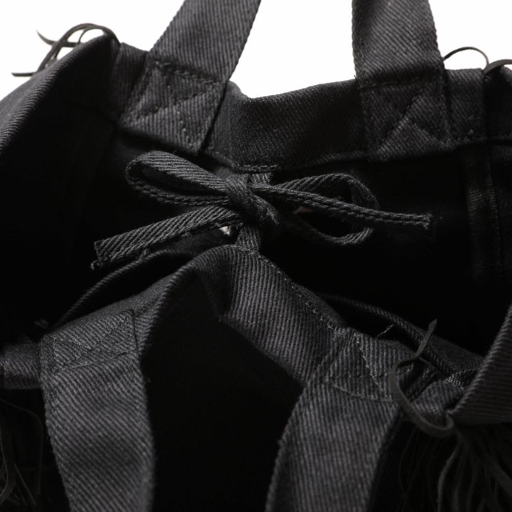 RUSTYスタジオミニトートバッグ    (ア)ブラック