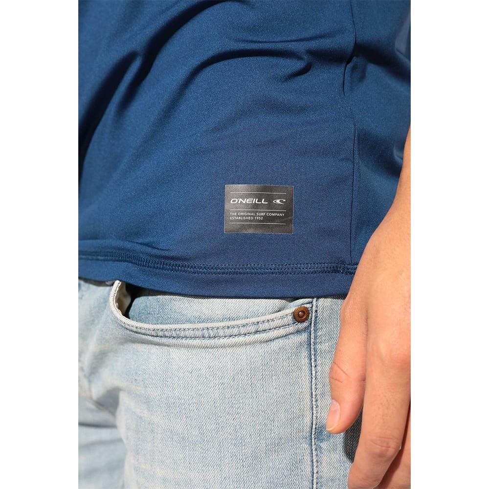 O'NEILL(オニール)/UPF50+肌を守れるメンズ写真プリントUVTシャツ (ア)ネイビー