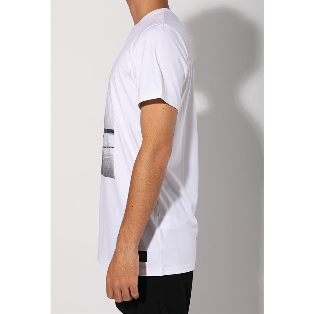O'NEILL(オニール)/UPF50+肌を守れるメンズ写真プリントUVTシャツ (イ)ホワイト