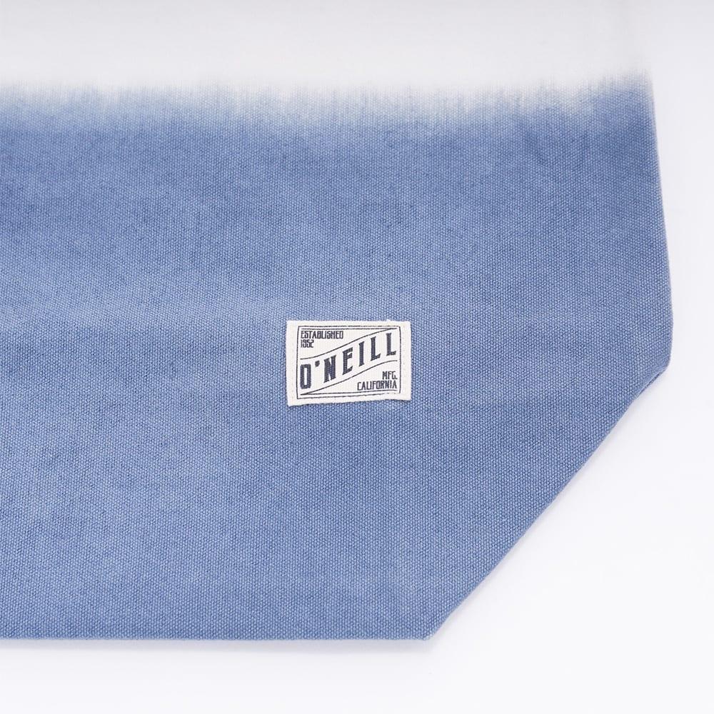 O'NEILL(オニール)/コットン素材グラデーション大きめトートバッグ (イ)ホワイト