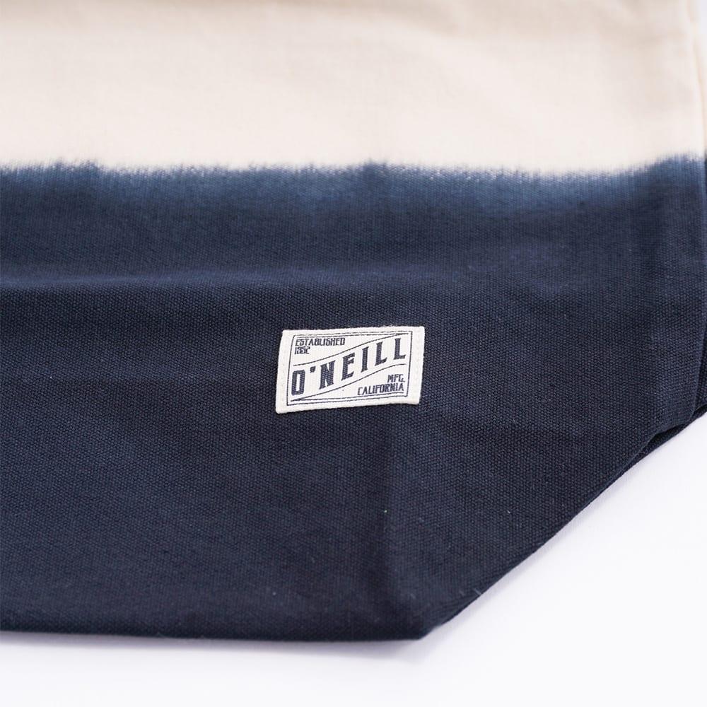 O'NEILL(オニール)/コットン素材グラデーション大きめトートバッグ (ア)ブラック