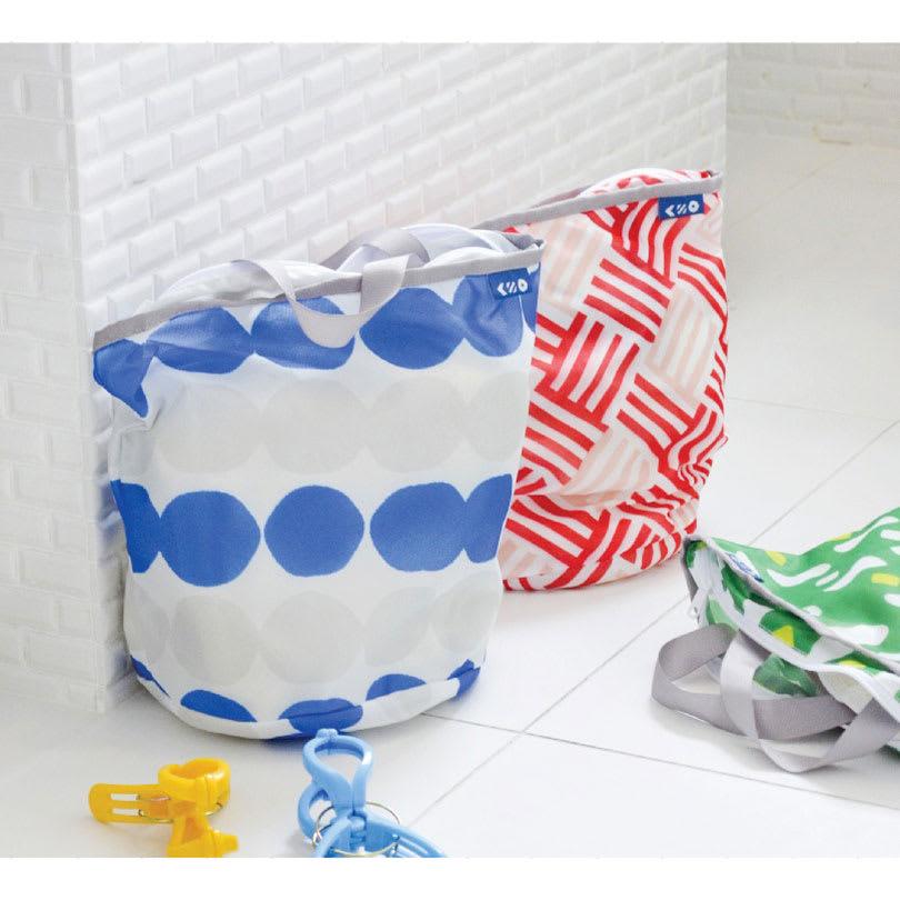 ランドリーバッグ 3色セット(Sサイズ) カラフル ポーチ・サブバッグ