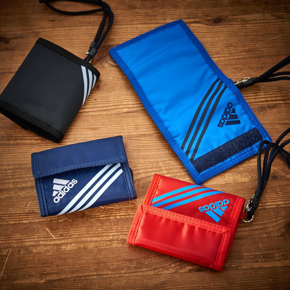 adidas(アディダス)/ウォレットコード付 かぶせ財布