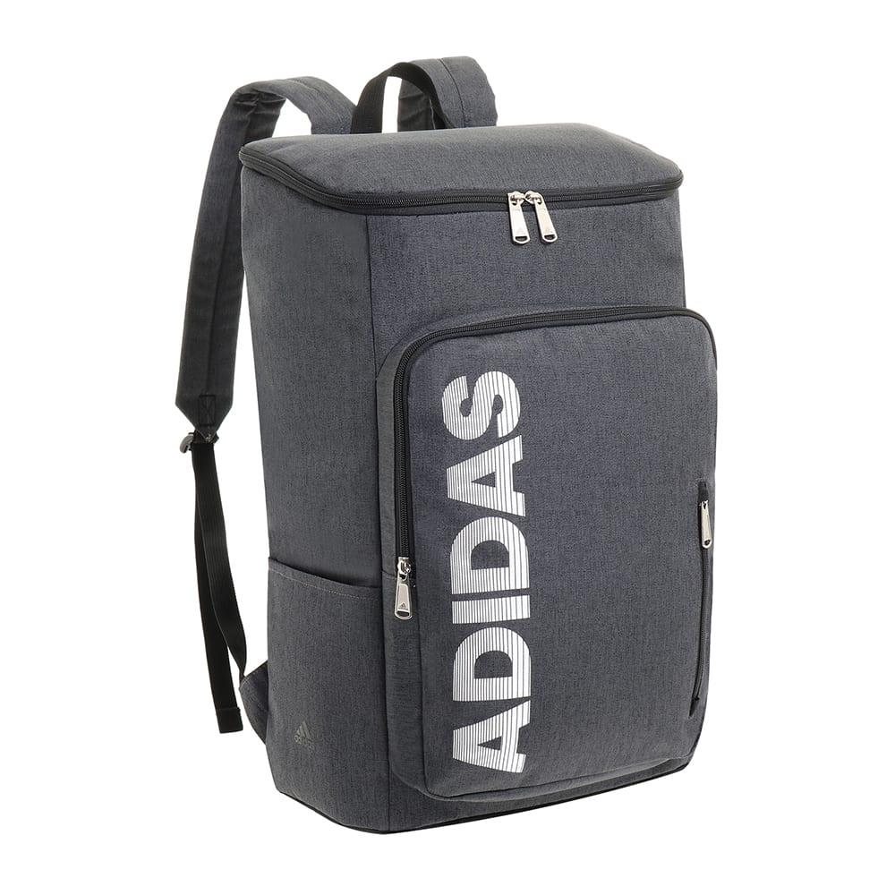 adidas(アディダス)/スクエア型リュックサック (ア)ブラック