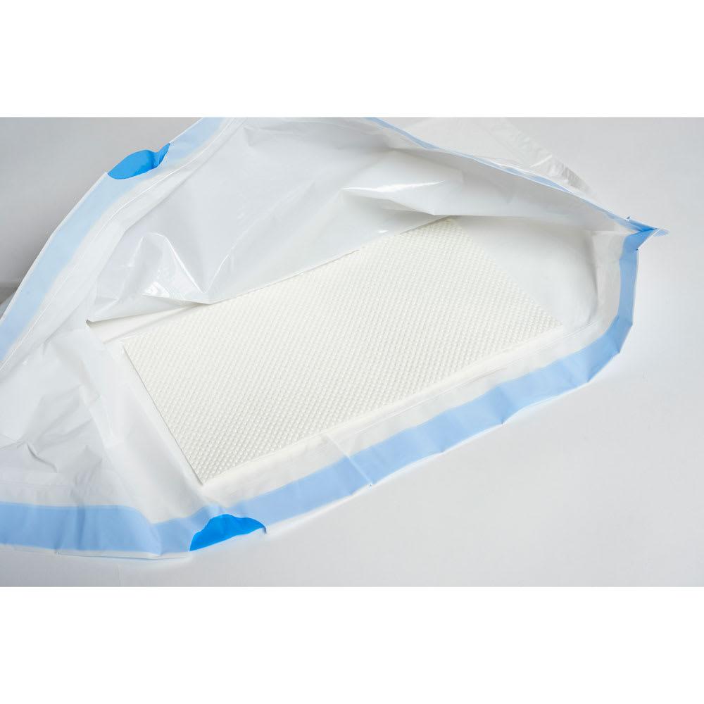 ロールトワレスマート 尿を素早く凝固してくれる吸水シート入り