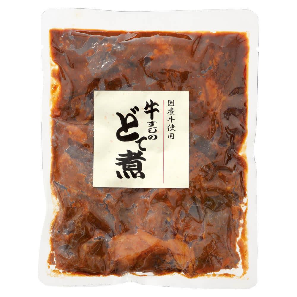 国産牛すじ どて煮 (150g×4袋)