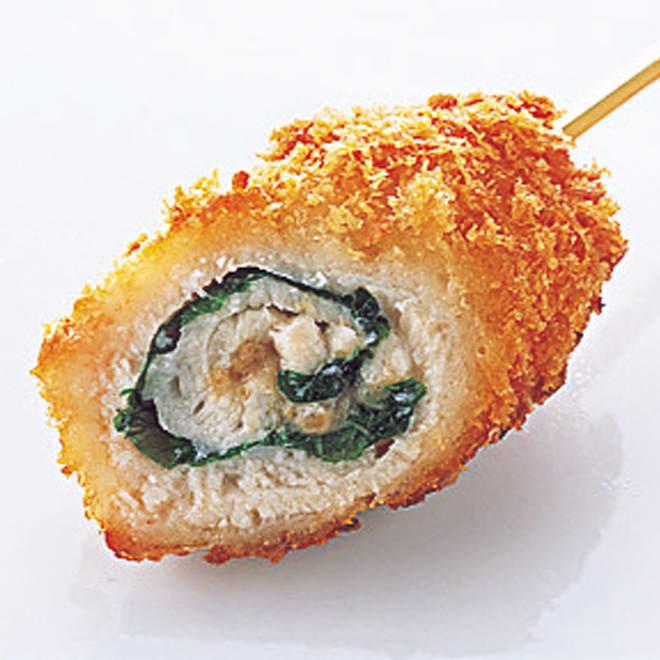 博多「華味鳥」 串揚げセット (5種 計50串) 梅しそ巻