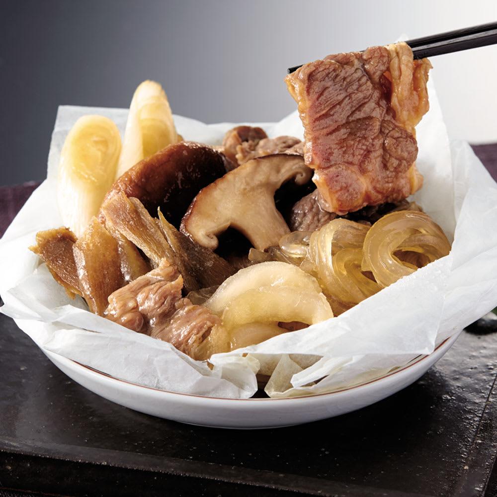 「祇園さゝ木」 すき焼き風包み蒸し (135g×5個) 和惣菜