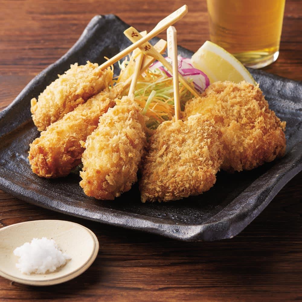 博多「華味鳥」 串揚げセット (5種 計50串) お弁当向き惣菜