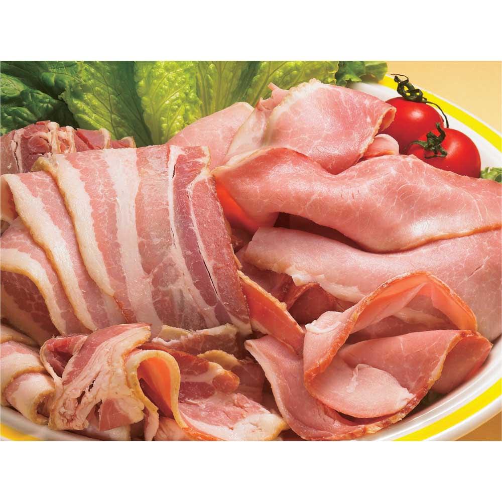 「キッチン飛騨」ハム&ベーコンセット (1.2kg) 肉加工品