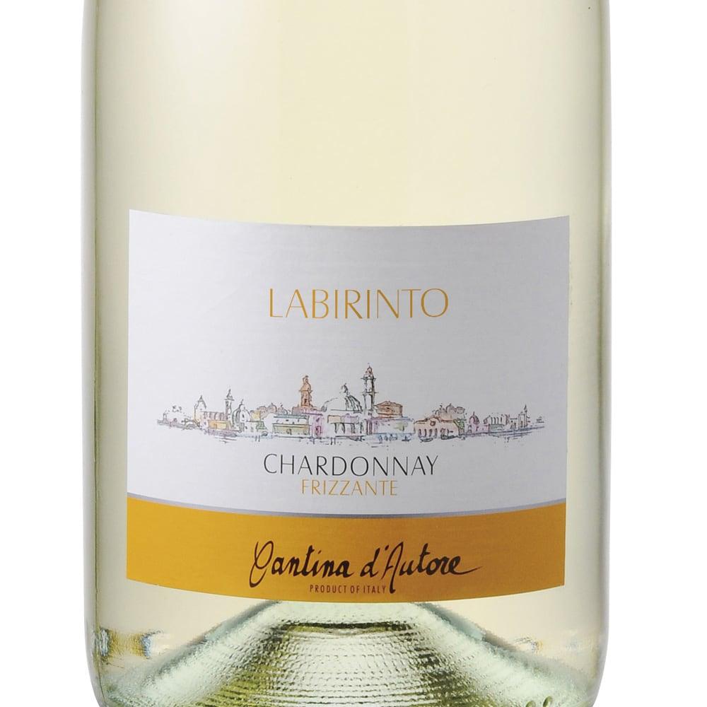 イタリアフリッツァンテ飲み比べ2種セット(スパークリングワイン) ラビリント シャルドネ・フリッツァンテ