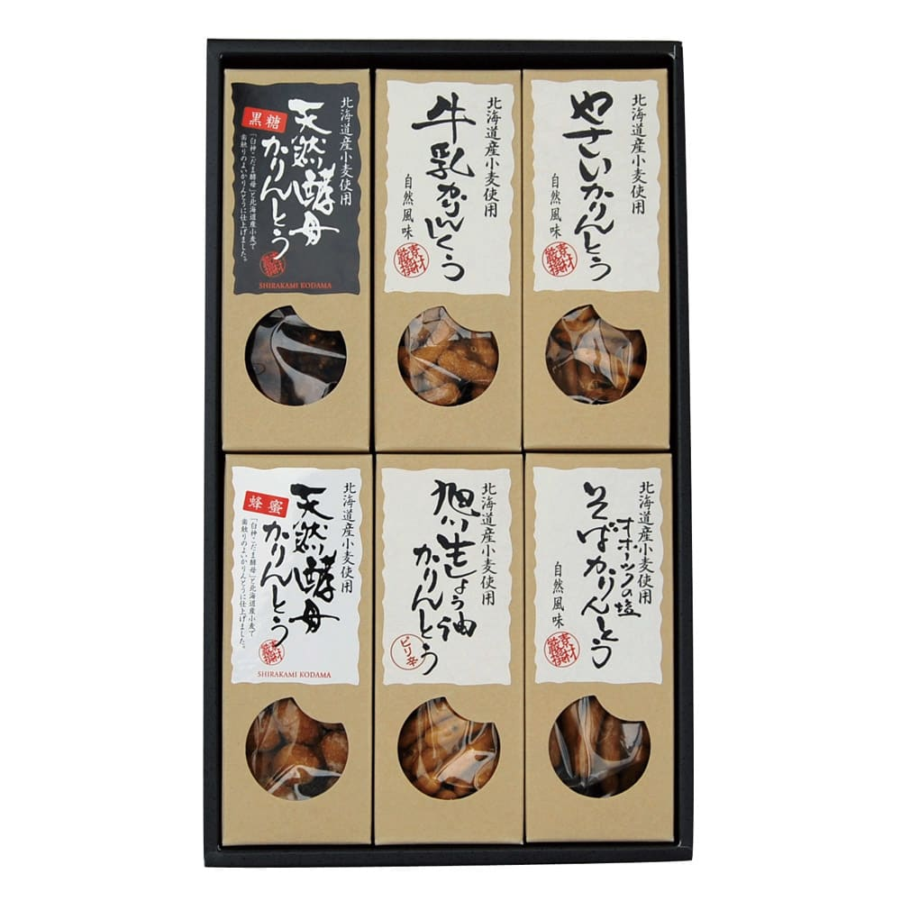 北海道かりんとう (6種計12箱)