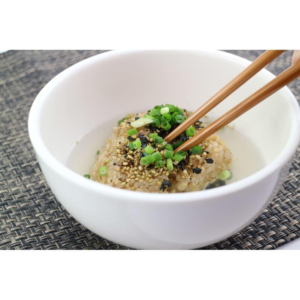 長兵衛玄米(1袋) 【お試し用】 調理例:お茶漬け