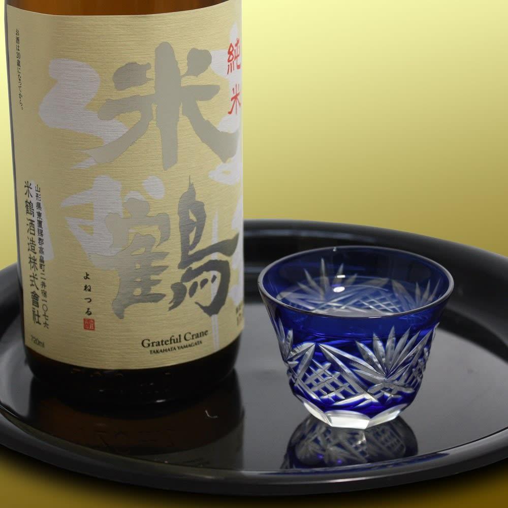 米鶴 純米 まほろば (720ml) しっかりとした旨味を持つ料理や、クリーム系の料理との相性がよく、食中酒としてぴったり。