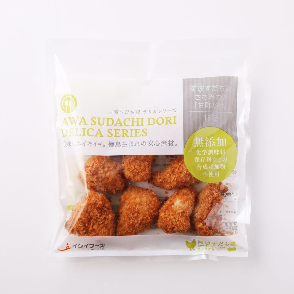 阿波すだち鶏ささみカツ(甘酢かけ) (180g×7袋) 商品パッケージ